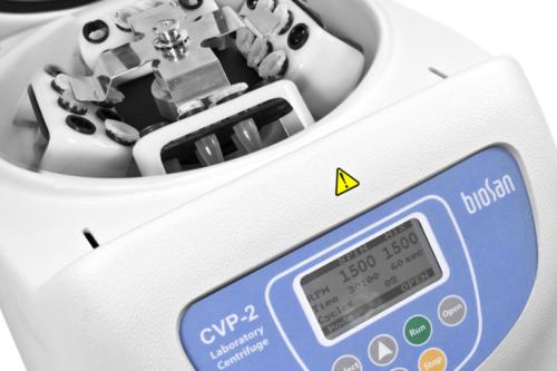 Centrifuge/vortex for PCR plates